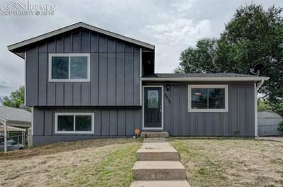 2230 Pepperwood Drive, Colorado Springs, CO 80910 - MLS#: 9548131