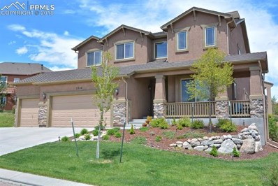 2344 Cinnabar Road, Colorado Springs, CO 80921 - MLS#: 9559105