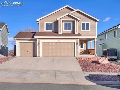 4803 Saddle Ridge Drive, Colorado Springs, CO 80922 - MLS#: 9589251