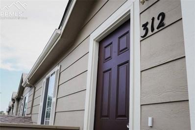 312 Ellers Grove, Colorado Springs, CO 80916 - MLS#: 9589883