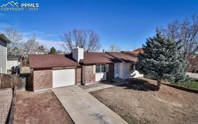 7740 Feldspar Drive, Colorado Springs, CO 80911 - MLS#: 9634415