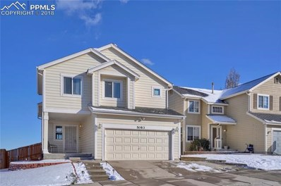 5083 Laredo Ridge Drive, Colorado Springs, CO 80922 - MLS#: 9643439