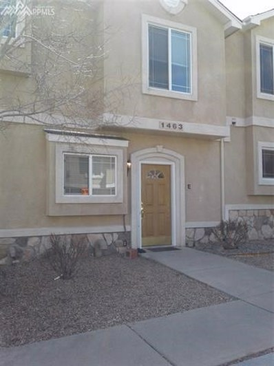 1463 Madison Ridge Heights UNIT E, Colorado Springs, CO 80904 - MLS#: 9693402