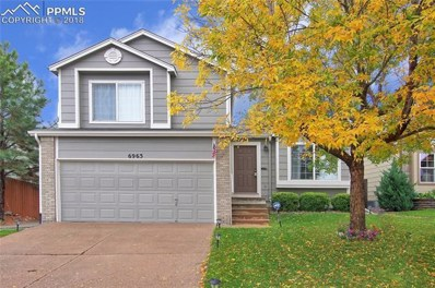 6963 Big Timber Drive, Colorado Springs, CO 80923 - MLS#: 9822782