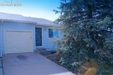5219 Solar Ridge Drive, Colorado Springs, CO 80917 - MLS#: 9850226