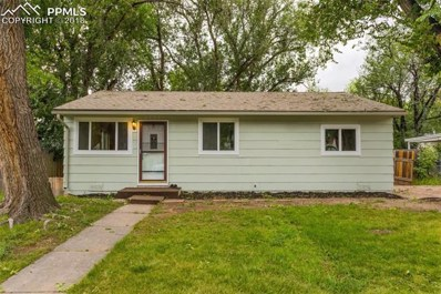 2202 Frontier Drive, Colorado Springs, CO 80911 - MLS#: 9879178