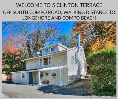 5 Clinton Terrace, Westport, CT 06880 - MLS#: 170111929