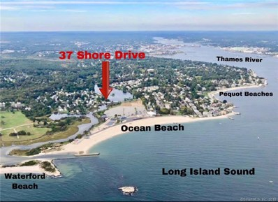 37 Shore Drive, Waterford, CT 06385 - MLS#: 170145535