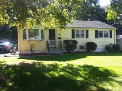 41 Pell Meadow Drive, Fairfield, CT 06824 - MLS#: 170154363