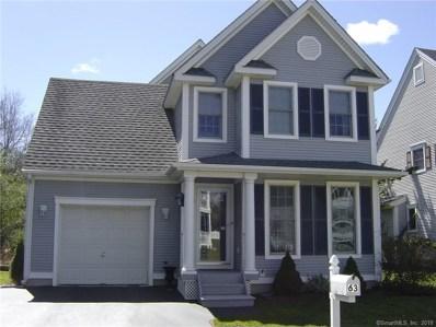 63 Olde Village Circle UNIT 63, Wallingford, CT 06492 - MLS#: 170177504