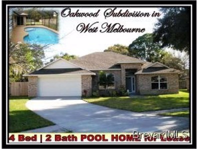 2426 Oakcrest Lane, West Melbourne, FL 32904 - MLS#: 663037
