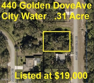440 Golden Dove Avenue, Palm Bay, FL 32907 - MLS#: 767180