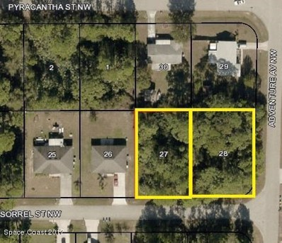 Sorrel Street, Palm Bay, FL 32907 - MLS#: 801679