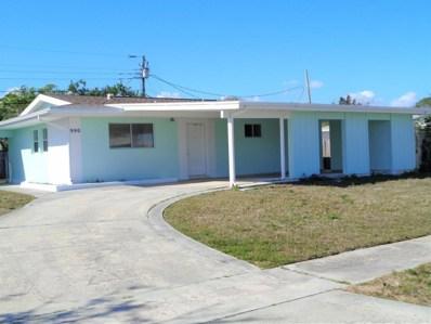 990 Darwin Lane, Palm Bay, FL 32905 - MLS#: 802730