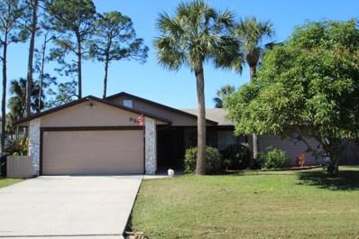 950 Piedmont Avenue, Palm Bay, FL 32907 - MLS#: 802986