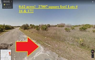 2144 Sutton **Double Lot** 0.62 Ac. Avenue, Palm Bay, FL 32908 - MLS#: 803334