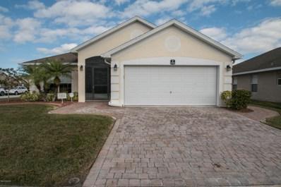 2301 Bridgeport Circle, Rockledge, FL 32955 - MLS#: 804077