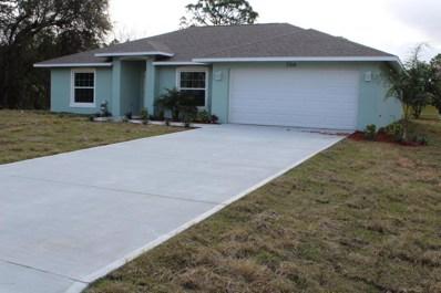 1366 Defender Street, Palm Bay, FL 32907 - MLS#: 804084