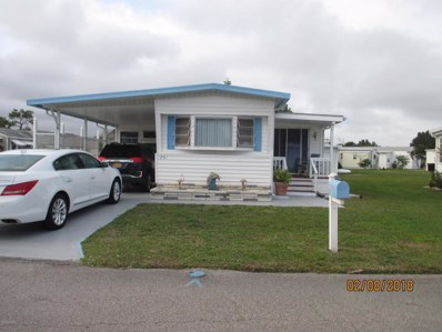 1201 NE Dove Court, Palm Bay, FL 32907 - MLS#: 804840