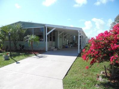 935 Dogwood Drive, Barefoot Bay, FL 32976 - MLS#: 805998