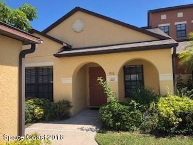 910 Luminary Circle UNIT 102, Melbourne, FL 32901 - MLS#: 806810