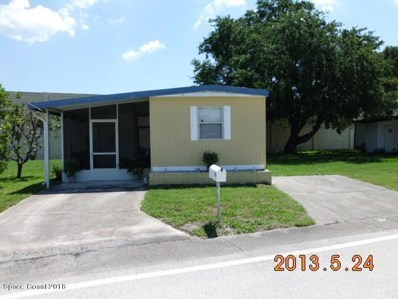 256 Holiday Park Boulevard, Palm Bay, FL 32907 - MLS#: 806893