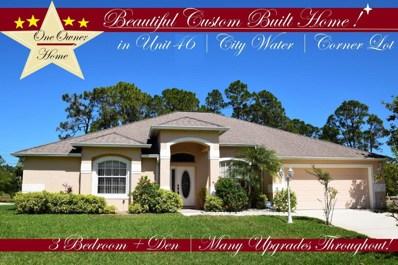 1457 Hero Street, Palm Bay, FL 32909 - MLS#: 807121
