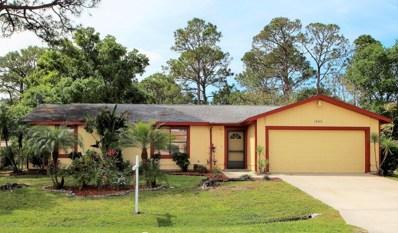 1000 Itzehoe Avenue, Palm Bay, FL 32907 - MLS#: 807451