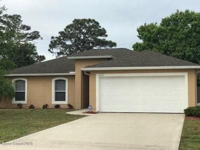 482 Cremona Avenue, Palm Bay, FL 32907 - MLS#: 807697