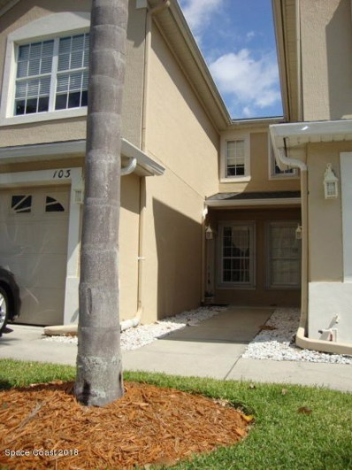 501 Trotter Lane UNIT 103, Melbourne, FL 32940 - MLS#: 807762
