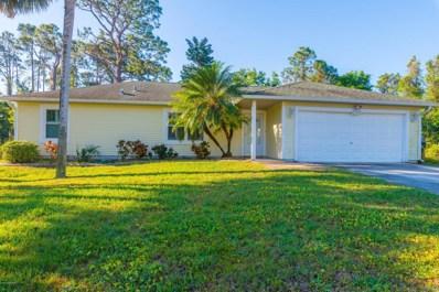 1376 NW Hazel Street, Palm Bay, FL 32907 - MLS#: 808597