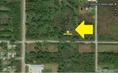 Osage Street & Lett Ln[Corner] Lane, Malabar, FL 32950 - MLS#: 808656