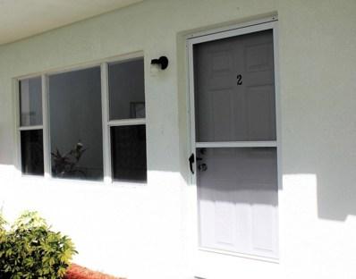 651 Palm Drive UNIT D2, Satellite Beach, FL 32937 - MLS#: 809280