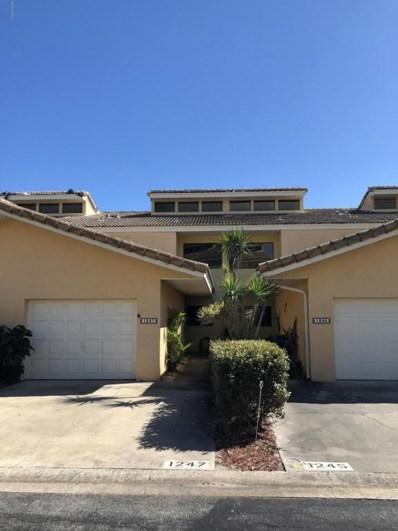 1247 Beachside Lane, Indialantic, FL 32903 - MLS#: 809481