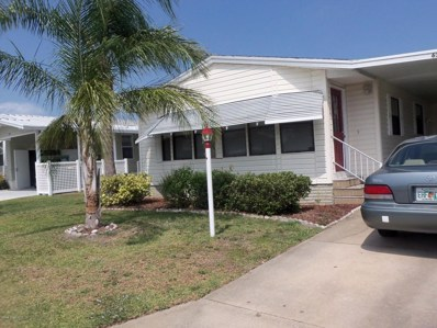 636 Periwinkle Circle, Barefoot Bay, FL 32976 - MLS#: 809513