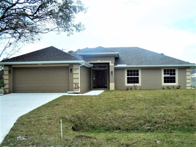 111 Ensenada Street, Palm Bay, FL 32909 - MLS#: 810288