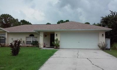 524 SE Titan Road, Palm Bay, FL 32909 - MLS#: 810314