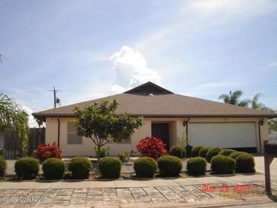 695 Verbenia Drive, Satellite Beach, FL 32937 - MLS#: 810666