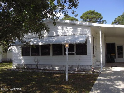 1040 Sebastian Road UNIT 1, Barefoot Bay, FL 32976 - MLS#: 810687