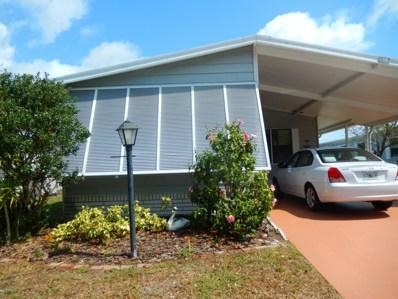 554 Marlin Circle, Barefoot Bay, FL 32976 - MLS#: 811645