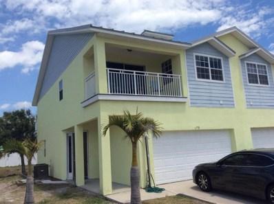 179 Saint Lucie Lane, Cocoa Beach, FL 32931 - MLS#: 812022