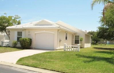 1043 NE Goldenrod Circle, Palm Bay, FL 32905 - MLS#: 812123