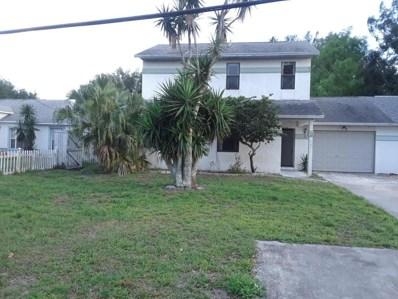 107 Gator Drive, Merritt Island, FL 32953 - MLS#: 812124