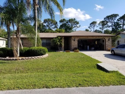 1614 Nebraska Street, Palm Bay, FL 32907 - MLS#: 812226