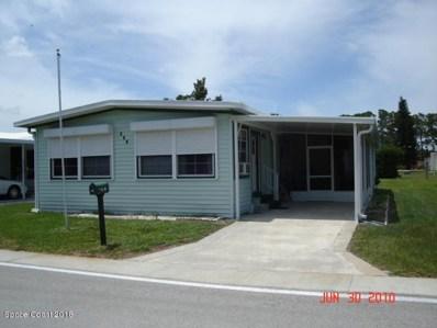 137 Holiday Park Boulevard, Palm Bay, FL 32907 - MLS#: 812294