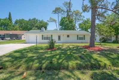 2321 Vista Palm Drive, Edgewater, FL 32141 - MLS#: 812373