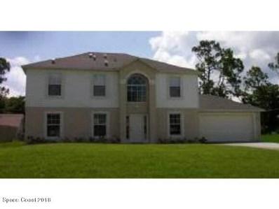 1213 NW Halber Avenue, Palm Bay, FL 32907 - MLS#: 812387