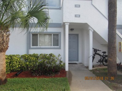 140 Beach Park Lane UNIT 37, Cape Canaveral, FL 32920 - MLS#: 812432