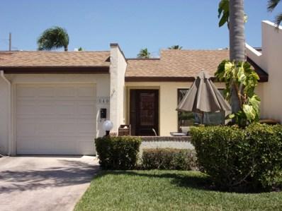 540 Summerset Court, Indian Harbour Beach, FL 32937 - MLS#: 812716