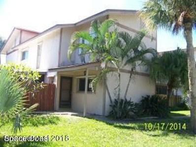 595 Park Avenue UNIT 1, Satellite Beach, FL 32937 - MLS#: 813100